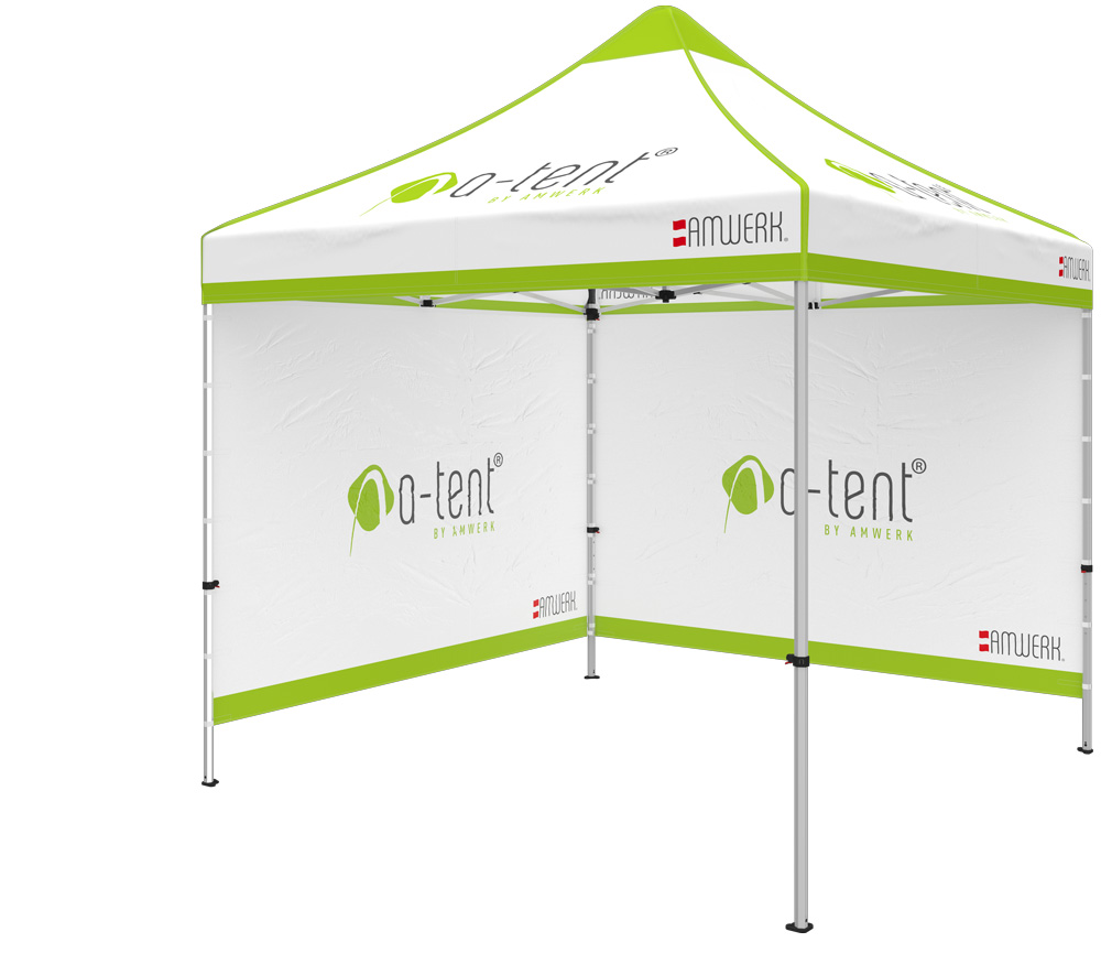 A-Tent 300x300  sc 1 st  AMWERK & A-Tent u2013The practical advertising tent. | AMWERK
